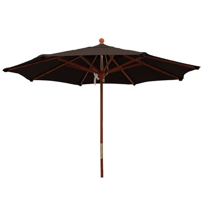 9 Market Umbrella Color: Bay Brown