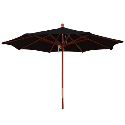 9 Market Umbrella Color: Raven Black