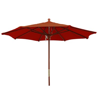 9 Market Umbrella Color: Brick