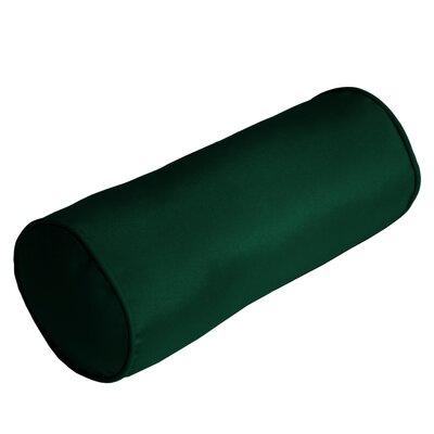 Outdoor Sunbrella Bolster Pillow Color: Forest Green