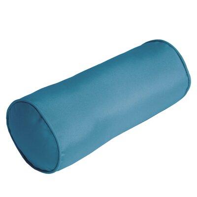 Outdoor Sunbrella Bolster Pillow Color: Sky Blue