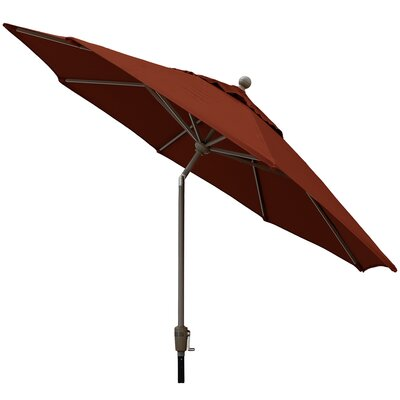 Sunbrella Outdoor Market Umbrella Color: Terrcotta