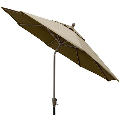 Sunbrella 9' Market Umbrella Color: Antique Beige W899ALU-AB