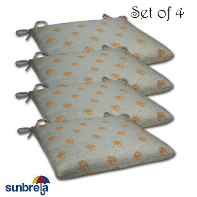 Knife Edge Outdoor Sunbrella Cushion Fabric: Shoreline Mist