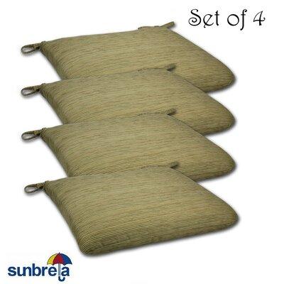 Knife Edge Outdoor Sunbrella Cushion Fabric: Chenilella Citron