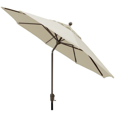 Sunbrella 9' Market Umbrella Color: Canvas W899ALU-C