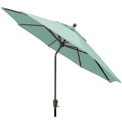 Sunbrella Outdoor Market Umbrella Color: Glacier