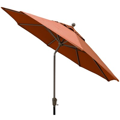 Sunbrella Outdoor Market Umbrella Color: Brick