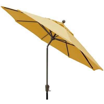 Sunbrella Outdoor Market Umbrella Color: Sunflower