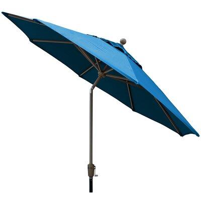 Sunbrella Outdoor Market Umbrella Color: Pacific Blue