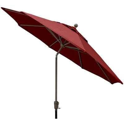 Sunbrella Outdoor Market Umbrella Color: Jocky Red