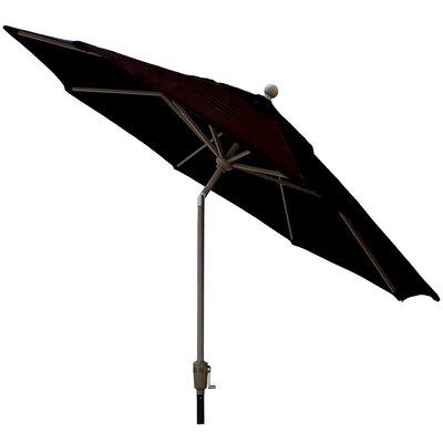 Sunbrella Outdoor Market Umbrella Color: Raven Black