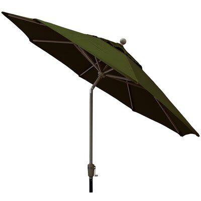Sunbrella Outdoor Market Umbrella Color: Palm