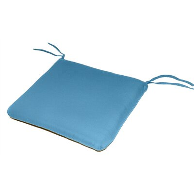 Knife Edge Outdoor Sunbrella Cushion Fabric: Sky Blue