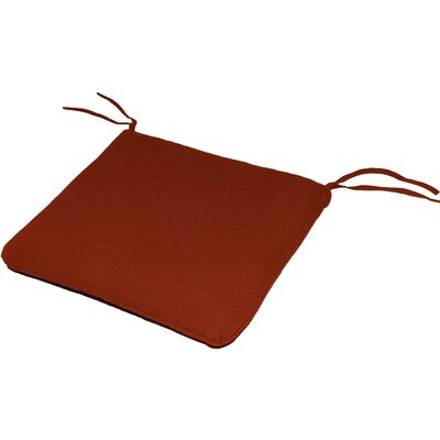 Knife Edge Outdoor Sunbrella Cushion Fabric: Terracotta