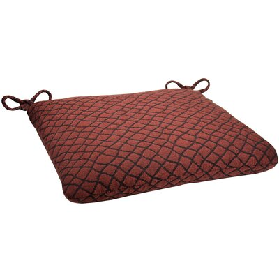 Knife Edge Outdoor Sunbrella Cushion Fabric: Boston Chili