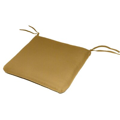 Knife Edge Outdoor Sunbrella Cushion Fabric: Brass