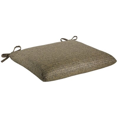 Knife Edge Outdoor Sunbrella Cushion Fabric: Tahiti Slate