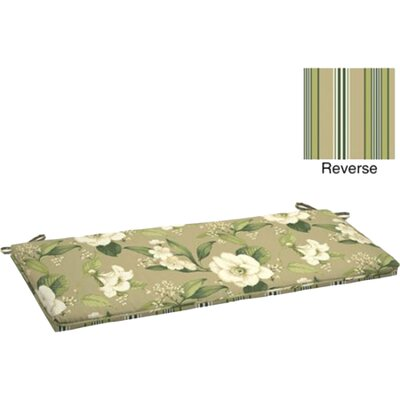 Allie Floral Outdoor Bench Cushion