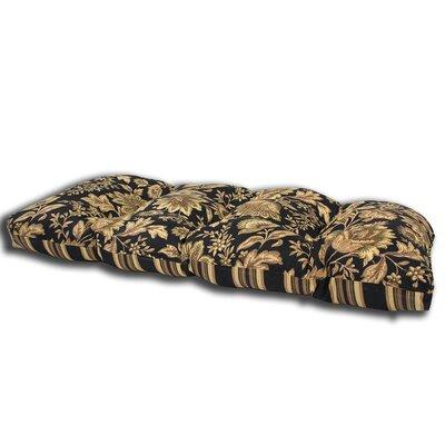 Melinda Midnight Outdoor Loveseat Cushion