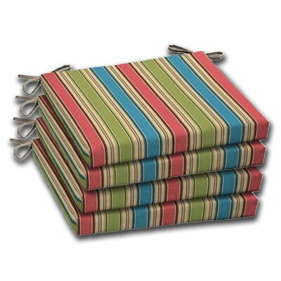 Stripe Outdoor Chair Cushion