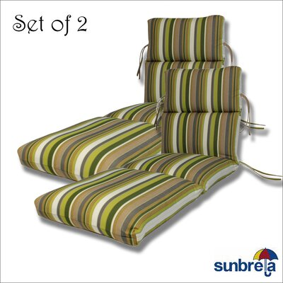 Outdoor Sunbrella Chaise Cushion