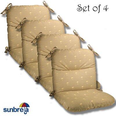 Outdoor Sunbrella Chair Cushion Fabric: Dune