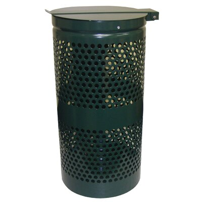 Receptacle 15 Gallon Trash Can 1206A-L