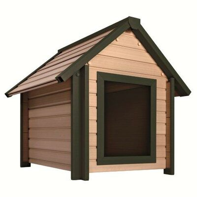 Bunk Dog House Size: Large