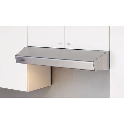 Furniture-Zephyr Essential Breeze II 35.94 400 CFM Under Cabinet Range Hood