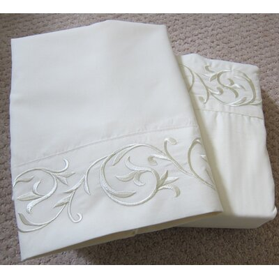 Soft-Luxury Queen Size Bed Sheet Set Color: Ivory, Size: Queen