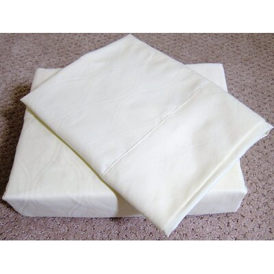 Soft-Luxury Queen Size Bed Sheet Set Size: Queen, Color: Ivory
