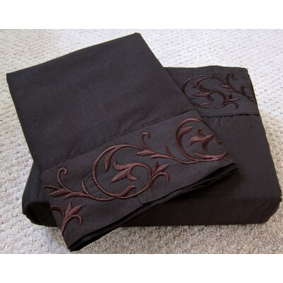 Soft-Luxury Queen Size Bed Sheet Set Color: Chocolate, Size: King