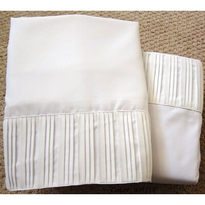 Soft-Luxury Queen Size Bed Sheet Set Color: Elegant White, Size: King