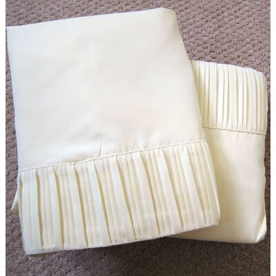 Soft-Luxury Queen Size Bed Sheet Set Color: Elegant Ivory, Size: King