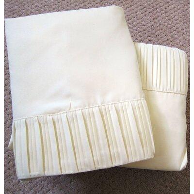 Soft-Luxury Queen Size Bed Sheet Set Color: Elegant Ivory, Size: King