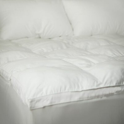 Down Free Fiber Bed Topper Size: 75
