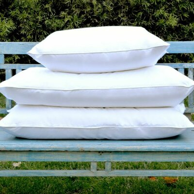 Deluxe Down Pillow Size: 20 L x 30 W