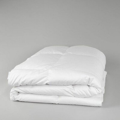 Deluxe Midweight Down Comforter Size: Twin