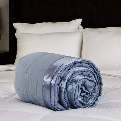 Peachy Soft Blanket Color: Soft Blue, Size: Queen