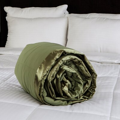 Peachy Soft Blanket Color: Moss Green, Size: Twin