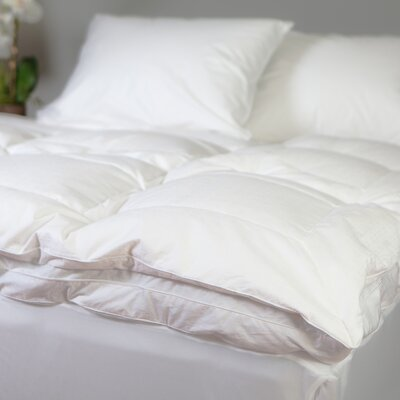 Luxury Feather Bed Size: 80 L x 78 W