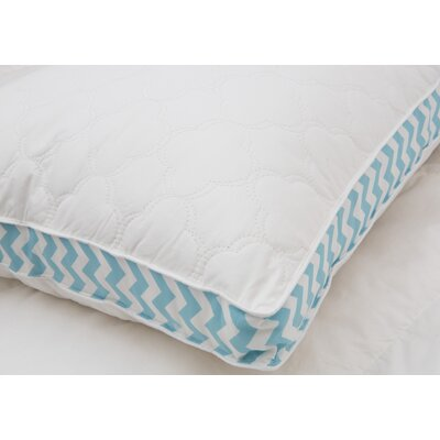 Cloud Quilted Printed Gusset Down Alternative Pillow Size: Jumbo