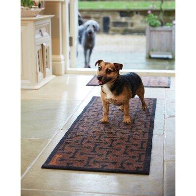 Howler & Scratch Bones Doormat Mat Size: Runner 18 x 411