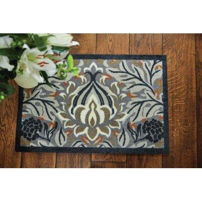 Muddle Mat Floral Doormat Rug Size: 1'8 x 2'6