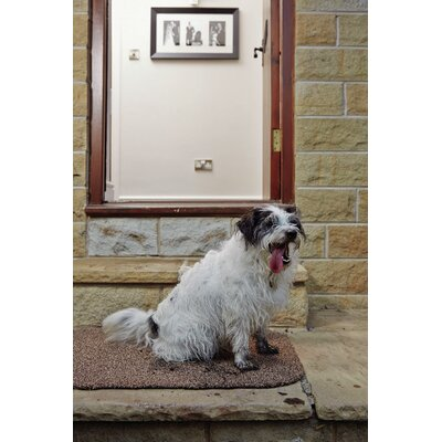 Muddle Mat Doormat Mat Size: Rectangle 111.5 x 27.5, Color: Linen