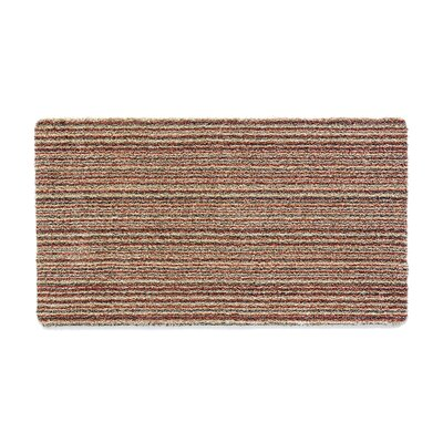 Muddle Mat Candy-Stripe Doormat Rug Size: Runner 18 x 411
