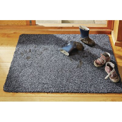 Muddle Mat Doormat Rug Size: 18 x 26, Color: Coffee