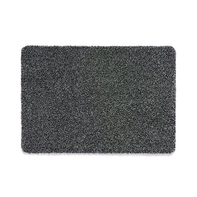 Muddle Mat Doormat Mat Size: Rectangle 18 x 26, Color: Charcoal