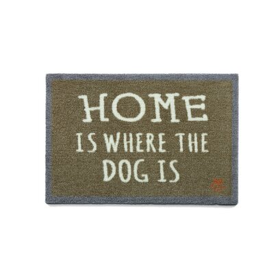 Howler & Scratch Home Doormat Rug Size: 18 x 26, Color: Orange